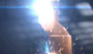 VFX: Door blast open & hologram